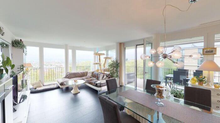 3.5-Zimmer-Wohnung im Sky Park mit einzigartiger Aussicht in Allschwil (BL)