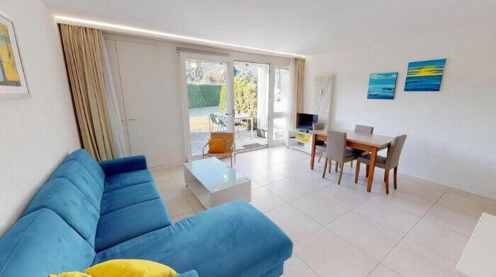 2.5 Zimmer-Ferienwohnung mit Gartensitzplatz in Ascona (TI)